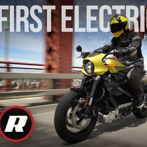 Прв видео тест од електричниот Harley-Davidson