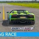 ВИДЕО: Lamborghini Aventador S Roadster vs McLaren 720S Spider