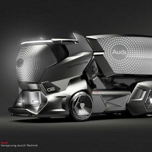 Audi камионот на иднината