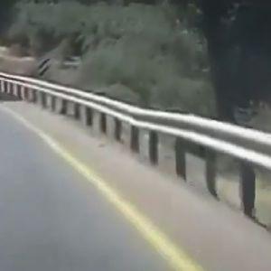 Страшно претекнување – делови од секунда делеа од голема несреќа