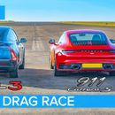 Tesla Model 3 Performance vs Porsche 911 Carrera S