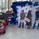 Valvoline i Auto kuća Kole - Zemun uručili Fiat 500 Hybrid Dolcevita srećnom dobitniku