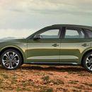 Audi Q5 прв со задни светла со ОЛЕД-техника