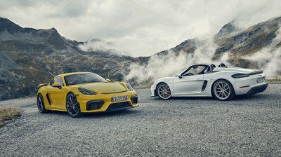 "Porsche 718 Cayman и Spyder првпат со ""шестка"""
