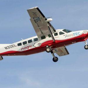 Прв лет на најголемиот електричен авион во светот