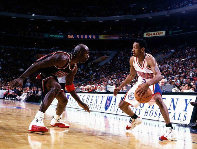 Michael Jordan 的防守哲學(站姿篇)