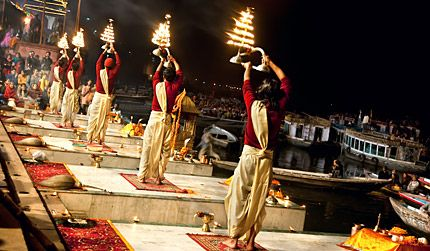 India in Varanasi - IN - IN