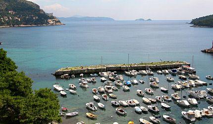 Kroatie in Dubrovnik - HR - HR