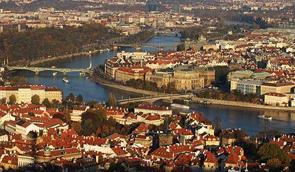 Tsjechie in Praag - CZ - CZ