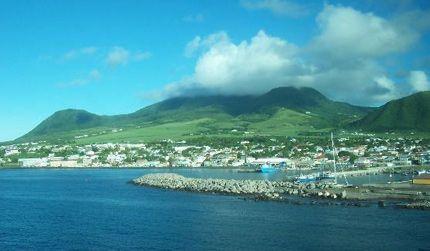 Saint-Kitts-and-Nevis in Saint-Kitts,-lw - KN - KN