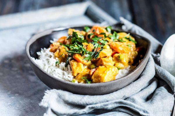 Rotes Thai-Curry mit Kürbis – asiatischer Genuss, gelingt ganz leicht