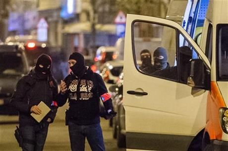 Official: 6th person arrested in Belgium over attacks