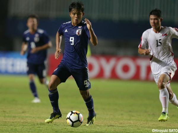 【海外の反応】「凄いゴールだ」久保建英のスーパーフリーキック炸裂!U19日本代表が5ゴールを奪い北朝鮮を撃破!の代表サムネイル