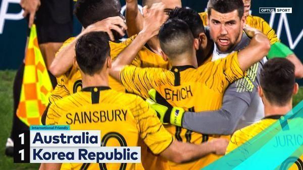 【海外の反応】「ラッキーだ」オーストラリア、劇的ゴールで韓国とドローの代表サムネイル
