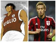 小志強與本田圭佑,現實與漫畫中,曾在意甲上陣的亞洲球員