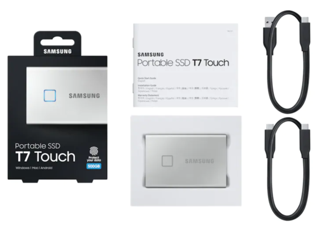 Samsung T7 Touch