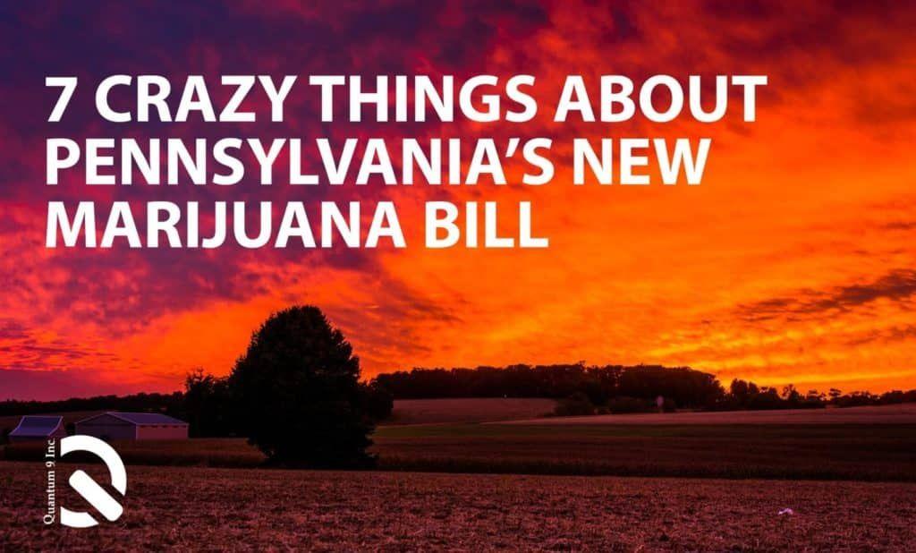 7 Crazy Facts in the Pennsylvania Medical Marijuana Bill