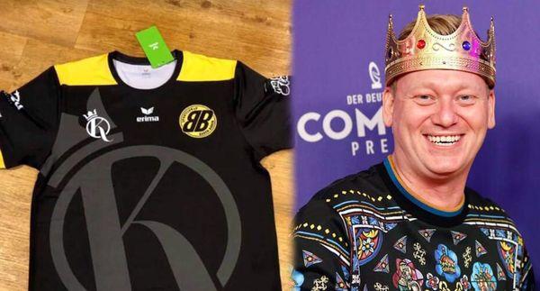 """König """"Knossi"""" wird Trikot-Sponsor des SC Baden-Baden"""