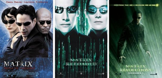 Matrix I II III 母體是 scarlett johansson