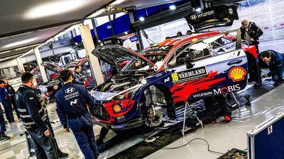 WRC: Танак најбрз на бизарниот шејкдаун во Шведска
