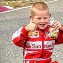 На свои 4 години, Никола е најмладиот автомобилист во Црна Гора