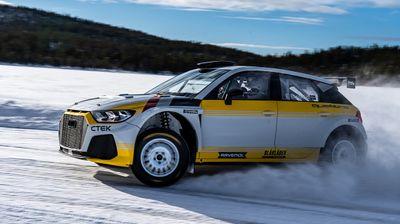 WRC: EKS тимот го открија Audi A1 Quattro со Rally2 спецификации