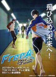 180507 – 京阿尼『男子游泳部』放送5週年紀念動畫《Free! -Dive to the ...