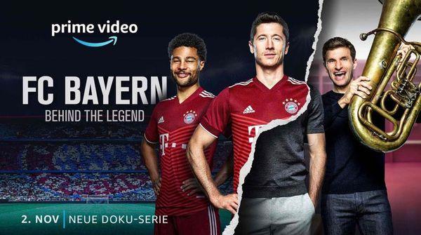 FC Bayern - Behind the Legend startet am 2. November exklusiv bei Amazon Prime Video