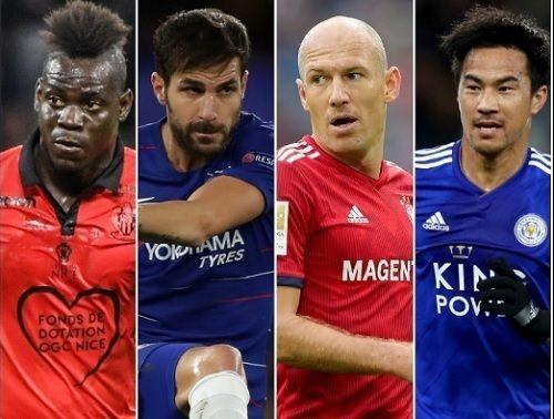 Jクラブも狙える来夏「移籍金0円」の大物選手を一挙公開!ロッベン、バロテッリ、セスクらの代表サムネイル