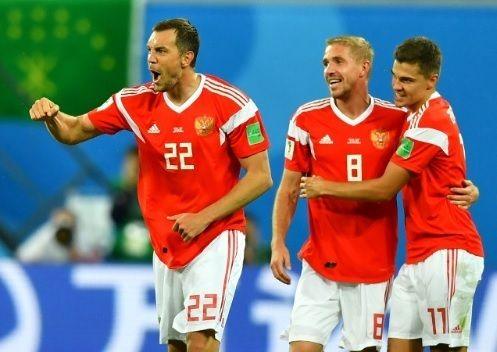 ロシア代表、チェリシェフ2戦連続弾などエジプトに3-1快勝し開幕2連勝!グループリーグ突破へ王手!ロシアW杯A組第2節(関連まとめ)の代表サムネイル