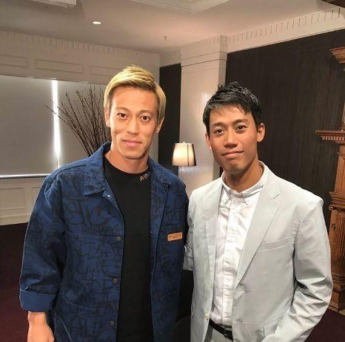 本田圭佑、テニス錦織圭と豪州で2ショット!海外ファンも仰天「双子みたい」「日本だとどっちが有名?」の代表サムネイル