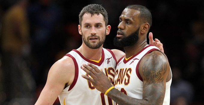 Kevin Love對LeBron James轉投湖人的看法
