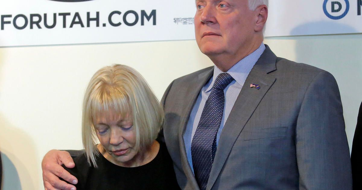 After wife pleads guilty to charge, Utah Gov. hopeful pushes for medical pot