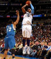 【當年今日】10年前,Carmelo單節取得33分。