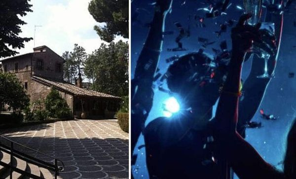 roma, 41 persone beccate a un party illegale in una villa dell'appia antica