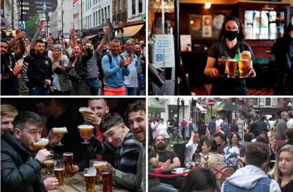 dalla fine del lockdown gli inglesi hanno bevuto cosi' tanto che le scorte stano scarseggiando...