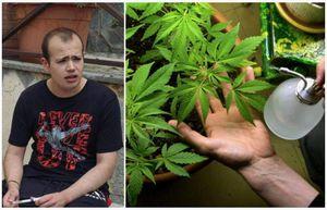 rischiare il carcere per una terapia a base di cannabis - la paradossale storia di cristian, che...