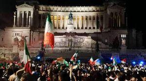 un caso di coronavirus su sette sarebbe stato causato dalla vittoria agli europei – ieri in italia..