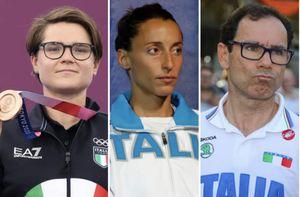 molti atleti azzurri hanno colto l'occasione delle olimpiadi per togliersi qualche sassolino...