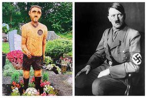 un tedesco ha dovuto rimuovere la statua del padre dal cimitero perche' somigliava a hitler