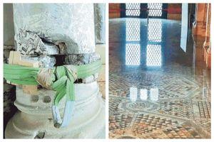 venezia, le foto della vergogna: la basilica di san marco e' in una situazione 'drammatica'...