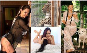 azzannata da una troy - modella 36enne sbranata da un leopardo durante uno shooting...