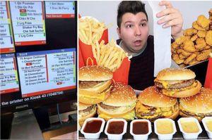 in australia la foto del conto di un cliente di mcdonalds e' diventata virale: un uomo ha ordinato..