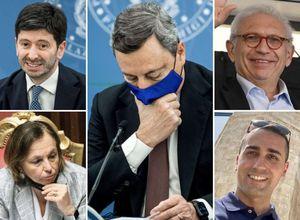 belpietro elenca le 'zavorre' di draghi: se riesce governare con simili ministri deve..