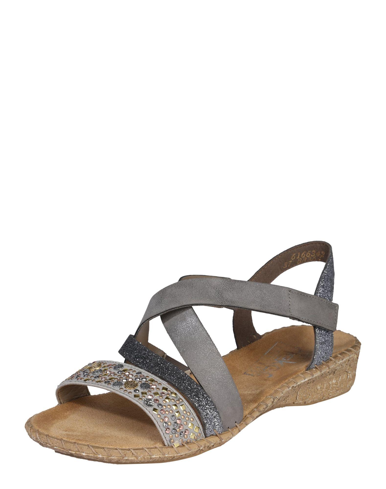 Sandalen mit Nietenbesatz ´Cross´