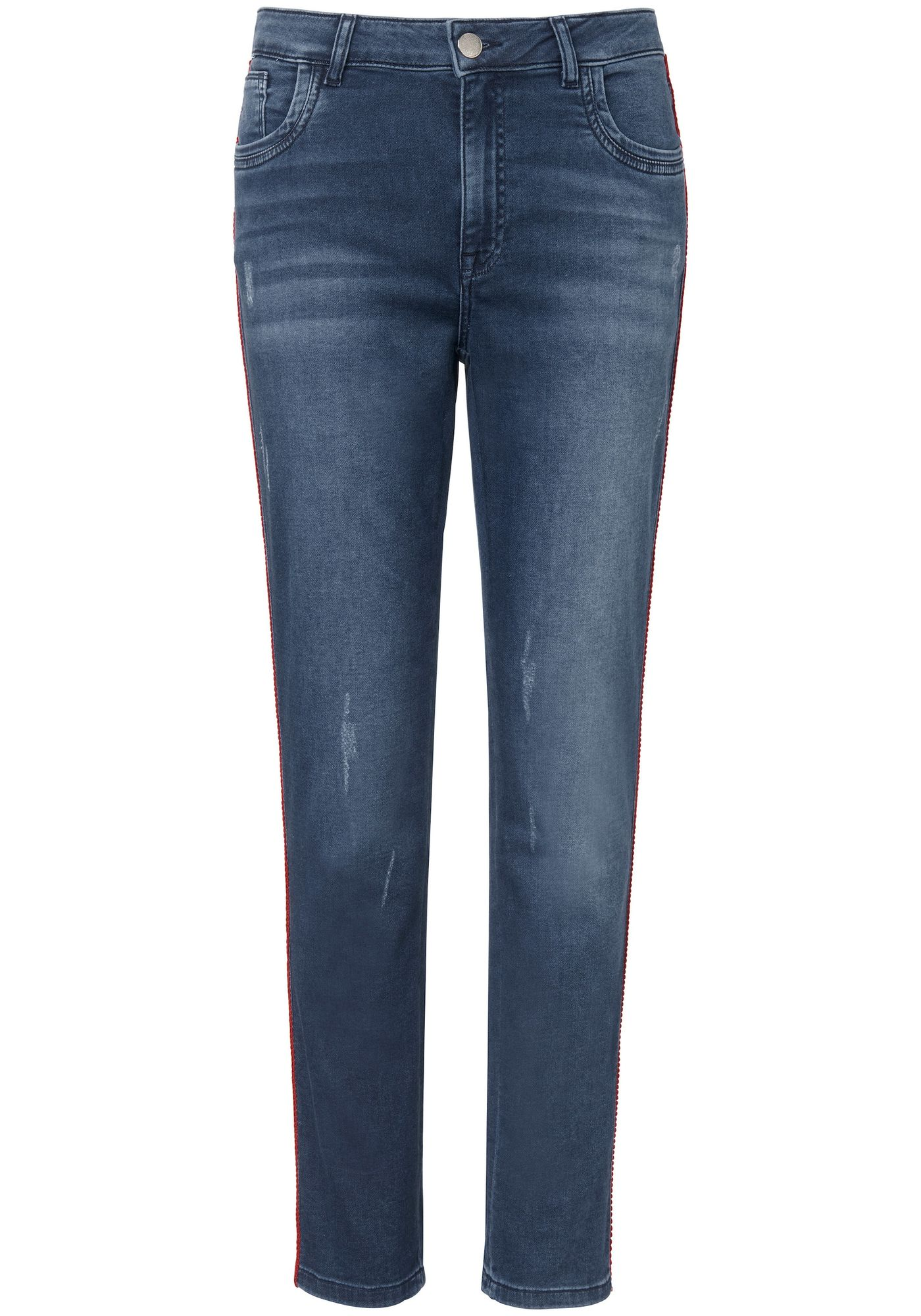 Jersey-Jeans in 5-Pocket-Form