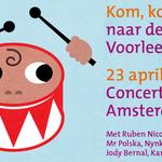 Wereldboekendag in het Concertgebouw in Amsterdam