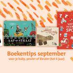 De tips van september staan voor je klaar 👶🏼📖