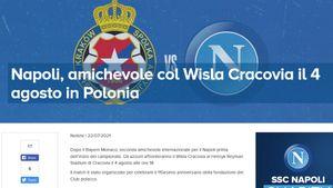 Ufficiale: il 4 agosto Wisla Cracovia-Napoli