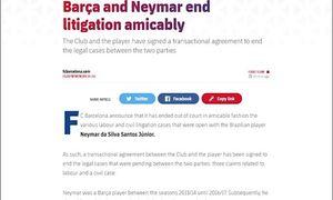Il club catalano ha annunciato ha di aver sistemato la questione legata ad un pr [...]